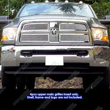 dodge 2012 ram 2500 fits 2010 2012 dodge ram 2500 3500 stainless steel mesh grille