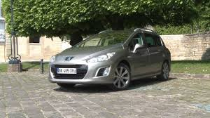 peugeot 308 2003 essai peugeot 308 sw 2 0 hdi 150 active 2012 youtube
