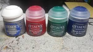 brush wizard review citadel gemstone paints