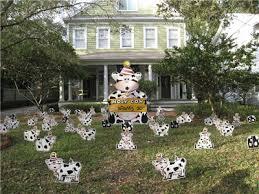 Birthday Lawn Decorations Birthday Yard Flocking U0026 Decorations Tampa Fl Call Today 813