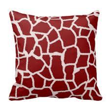 Red Decorative Pillow Dark Red Pillows Decorative U0026 Throw Pillows Zazzle