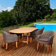Wicker Patio Furniture San Diego - hampton bay spring haven brown 5 piece all weather wicker patio