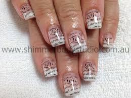 nails gel nails french nails konad stamping nail art nails