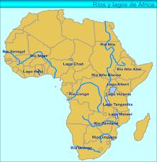 mapa de africa mapa de montañas de africa