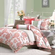 cute image of bedroom design and decoration using light pink