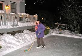 How To Build A Backyard Ice Rink by How To Build An Ice Rink In Your Yard Apartment Therapy