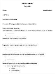 handover report templates u2013 18 free word pdf documents download