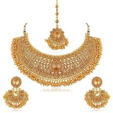 gold plated choker necklace images Sukkhi traditional gold plated kundan choker necklace set for jpg