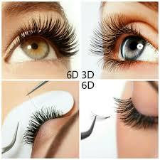 3d extensions nail corridor studio 3d 6d eyelash extension
