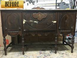 a painted black buffet the fastest way to paint furniture