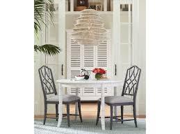 paula deen home bungalow oleander white 44 u0027 u0027 wide round dining