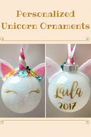 personalized unicorn ornaments these are freaking adorable