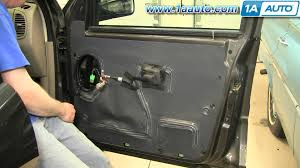 2003 Ford Expedition Interior Parts How To Install Replace Door Panel Ford Explorer Sport Trac 01 05