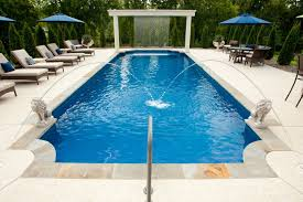 new great lakes in ground fiberglass pool by san juan fiberglass pool problems can a fiberglass pool really pop up