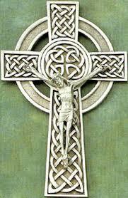 catholic wall crucifix 8 inch silver celtic wall crucifix