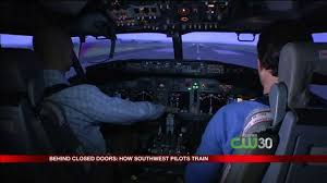 Southwest Flight Deals by Southwest Airlines Pilot Training Behind Closed Doors With