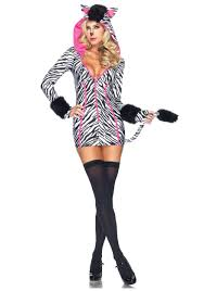 halloween animal costume ideas seductive zahara zebra costume women u0027s animal costume ideas