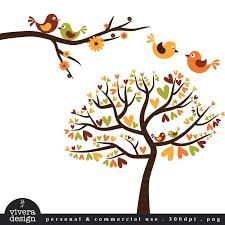 clipart of birds in trees lemonize