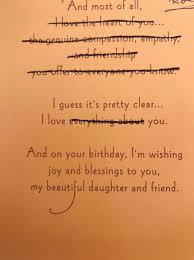 trending pic dad sends daughter brutally honest birthday cards