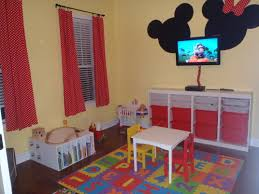 Mickey Mouse Nursery Curtains by Mickey Mouse Room Decor For Toddlers And Minnie Bedroom Home S