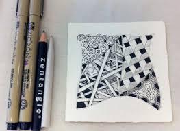 4 materials you need to zentangle quarto creates