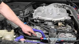 nissan 350z lower engine cover project import 350z g35 vq35 oil consumption fix pcv valve