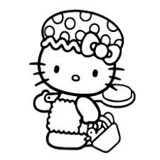 75 free printable kitty coloring pages