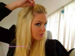 hair bump how to the hair quiff poof bump foxylocksextensions