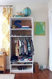 Closet Simple And Economical Solution Small Space Solution 15 Diy Garment Racks Brit Co