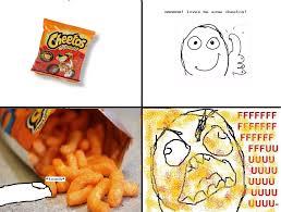 Cheetos Meme - cheetos rage guy fffffuuuuuuuu know your meme