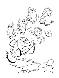 family fun finding nemo coloring free printable coloring
