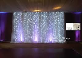 wedding backdrop lights weddings at wotton house dorking wedding by design
