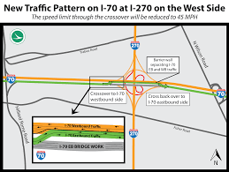 Columbus Ohio Traffic Map by Pages Columbus West Side I 70 At I 270 Information