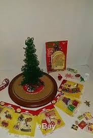 westrim beaded mini tree set with decorations