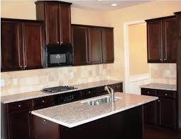 kitchen faucet placement espresso cabinets for small kitchen with white porcelain
