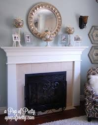 Decorate Fireplace by Outstanding Decorative Fireplace Mantels Ideas Images Decoration