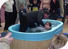 portable baptism baptism the seed