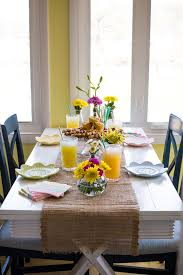 Easter Restaurant Decorations by An Intimate Easter Brunch Decorating Recipes U0026 Photos
