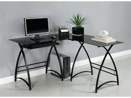 Metal Computer Desks Catchy Glass Computer Desk Black Collection U2013 Navassist Me