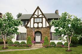 Landscaping For Curb Appeal - update the tudor colonial gets curb appeal hooked on houses
