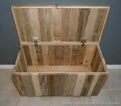 Making A Toy Box Plans by Recycled Pallet Storage Box Ideas Pallet Wood Projects