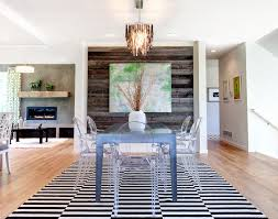 wood artwork dining room contemporary with white vase textured