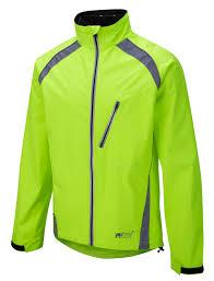 cycling windbreaker jacket new oska hi vis yellow waterproof cycling jacket foska com