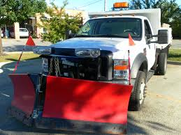 snow plows salt spreaders dump body lighting