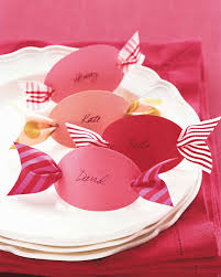 candy place cards martha stewart