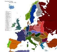 Europe Pre World War 1 Map by Alternate Cold War Europe Map By Muzik Maniac On Deviantart