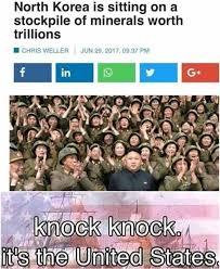 North Korea South Korea Meme - knock knock funny memes daily lol pics