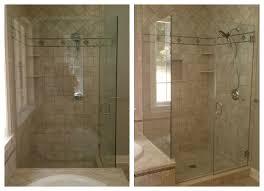 Frameless Shower Door Handle by Bathroom Frameless Glass Shower Doors With Stainless Steel