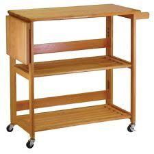 Oasis Island Kitchen Cart Folding Kitchen Cart Ebay