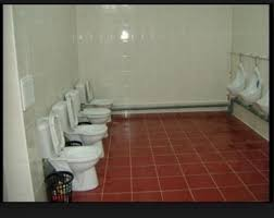 how our bathroom the head looked was at parris island south